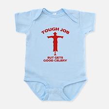 Tough Job But Gets Good Celery Infant Bodysuit