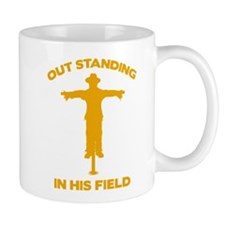 Out Standing In His Field Mug