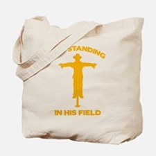 Out Standing In His Field Tote Bag