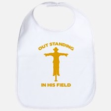 Out Standing In His Field Bib