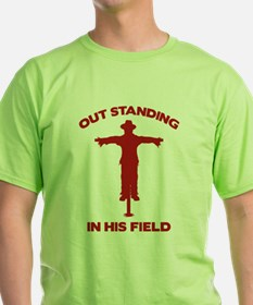 Out Standing In His Field T-Shirt