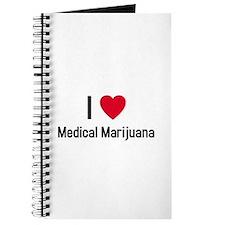 Cute I love weed Journal