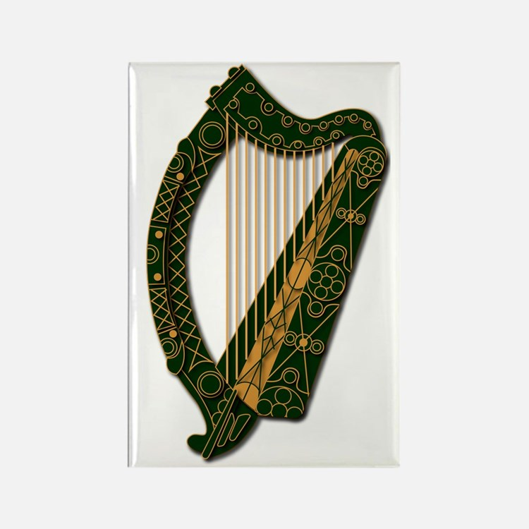 Ireland Coat Of Arms - Rectangle Magnet