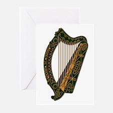 Ireland Coat Of Arm-Greeting Cards (Pk Of 10) Gree