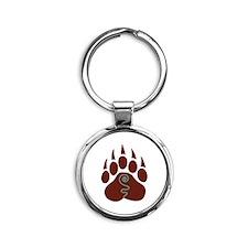 Native American Bear Claw Keychains