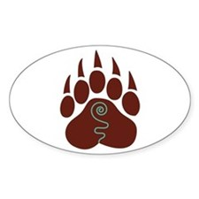 Native American Bear Claw Decal