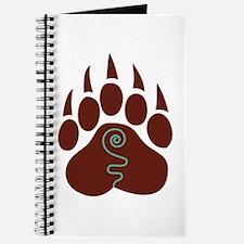 Native American Bear Claw Journal