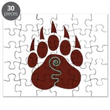 Native American Bear Claw Puzzle