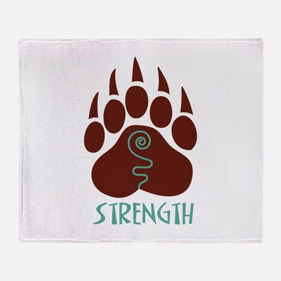 STRENGTH Throw Blanket