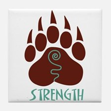 STRENGTH Tile Coaster