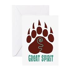 GREAT SPIRIT Greeting Cards