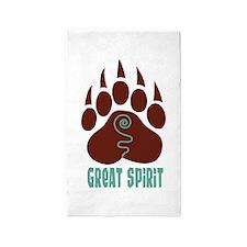 GREAT SPIRIT 3'x5' Area Rug