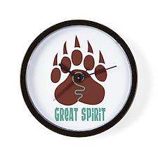 GREAT SPIRIT Wall Clock