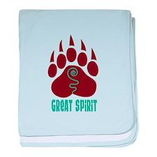 GREAT SPIRIT baby blanket