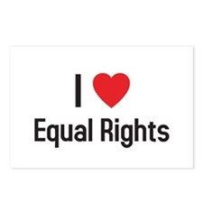 Cute Equal rights Postcards (Package of 8)