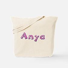 Anya Pink Giraffe Tote Bag
