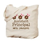 Personalized Assistant Principal Tote Bag