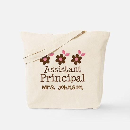 Personalized Assistant Principal Tote Bag