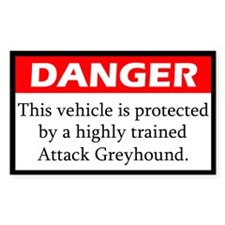 Attack Greyhound Decal