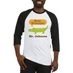 Assistant Principal Personalized Baseball Jersey