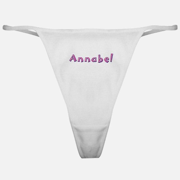Annabel Pink Giraffe Classic Thong