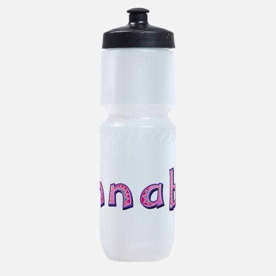 Annabel Pink Giraffe Sports Bottle