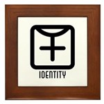 Identity : Female Framed Tile