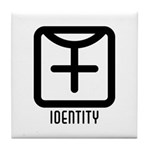 Identity : Female Tile Coaster