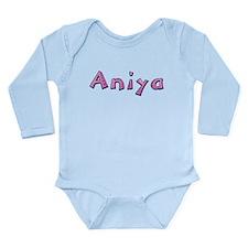 Aniya Pink Giraffe Body Suit