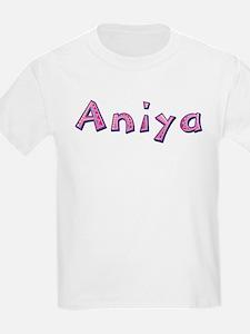 Aniya Pink Giraffe T-Shirt