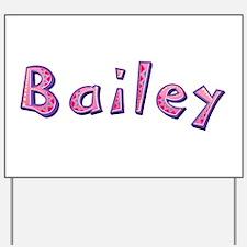 Bailey Pink Giraffe Yard Sign