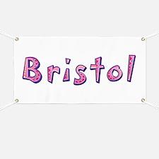 Bristol Pink Giraffe Banner