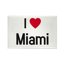 Funny South beach miami Rectangle Magnet