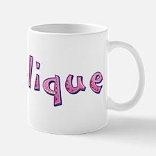 Angelique Pink Giraffe Mugs