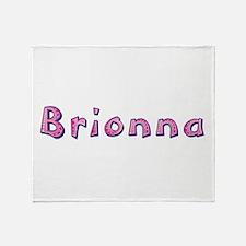 Brionna Pink Giraffe Throw Blanket