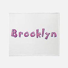 Brooklyn Pink Giraffe Throw Blanket
