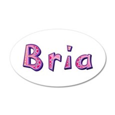 Bria Pink Giraffe Wall Decal