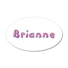 Brianne Pink Giraffe Wall Decal