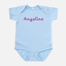 Angelina Pink Giraffe Body Suit