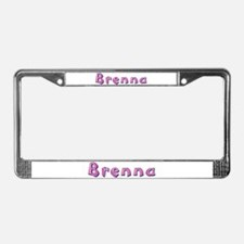 Brenna Pink Giraffe License Plate Frame