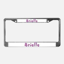 Brielle Pink Giraffe License Plate Frame