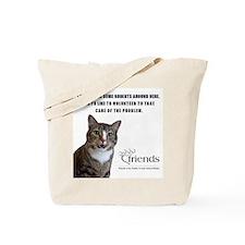 Feline Volunteer Tote Bag