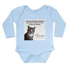 Feline Volunteer Long Sleeve Infant Bodysuit