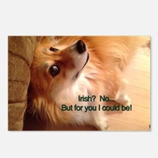 Irish Corgi Dog - Sober? Postcards (Package of 8)