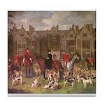The Warwickshire Hunt. Tile Coaster