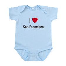 I love San Francisco Infant Bodysuit