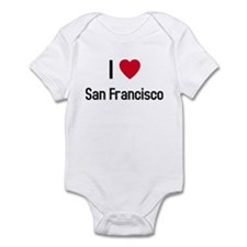 I love San Francisco Infant Bodysuit