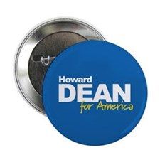 HOWARD DEAN FOR AMERICA Button