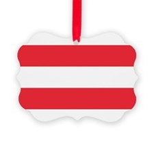 Austrian Flag Ornament