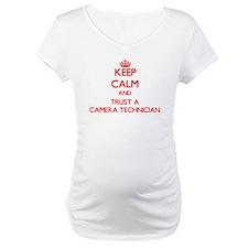 Keep Calm and Trust a Camera Technician Shirt
